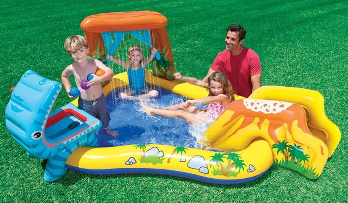 Intex Dinosaur Play Centre / Paddling Pool + FREE PRIME DELIVERY