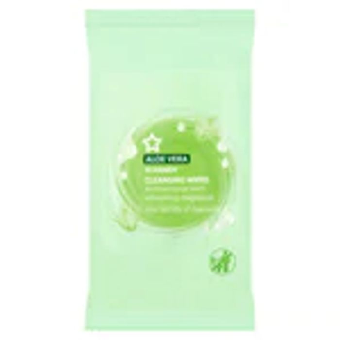 Better than 1/2 Price on Selected Superdrug Antibacterial Wipes