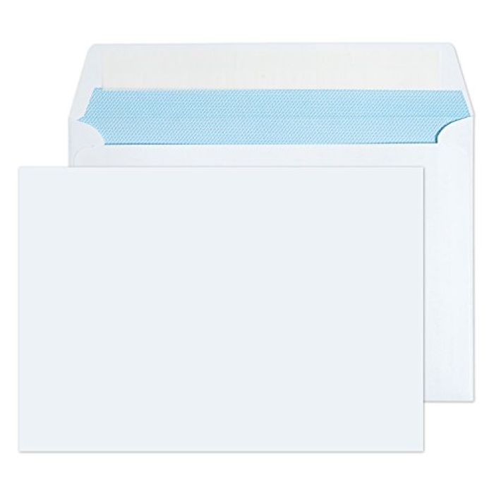 C5 / A5 White Peel & Seal Envelopes Pack of 30 - High Quality