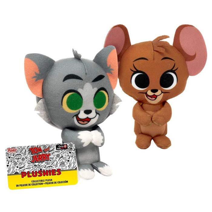"Funko Tom and Jerry Plushies Collectible 5"" Plush Toy ( £2.99 Unlimited Post)"