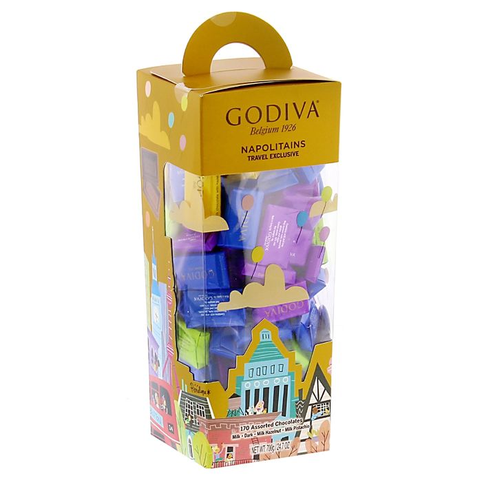 Godiva Napolitains Assorted Chocolates (3 X 700g Box)