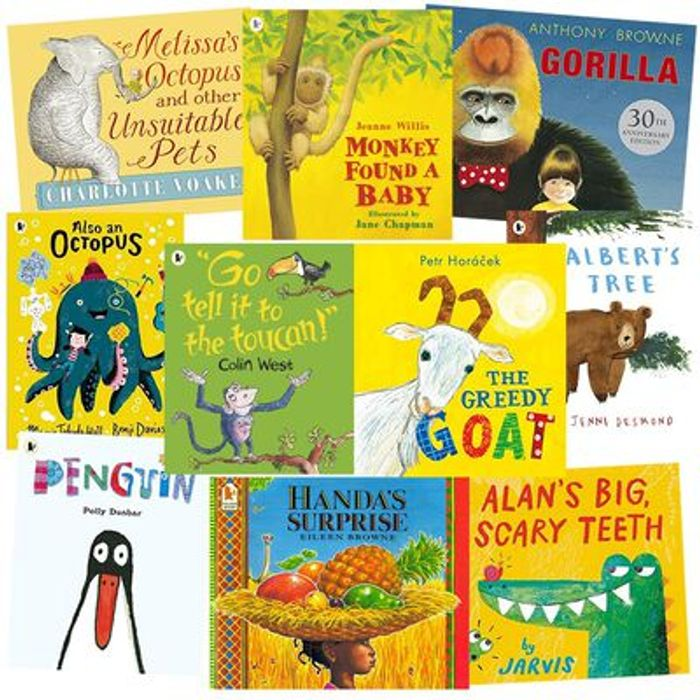 10 for £10 Kids Books Bundles at the Works