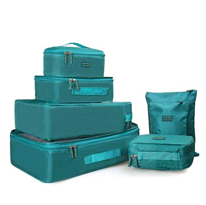60% off Ravel Essential Bags-in-Bag Packing Cubes, Set of 7