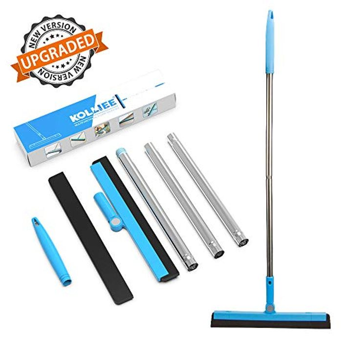 DEAL STACK - Floor Squeegee with Handle + 5% Coupon