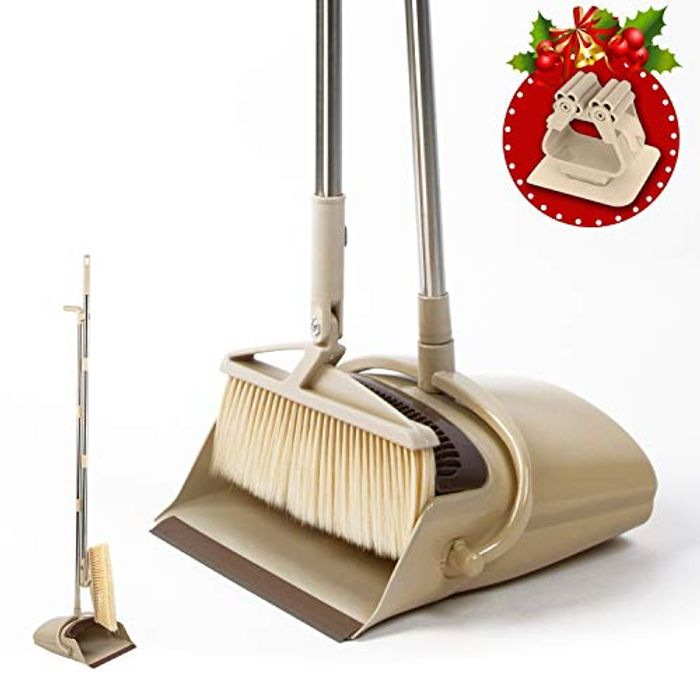 Half Price- Dustpan and Brush Set with Long Handled