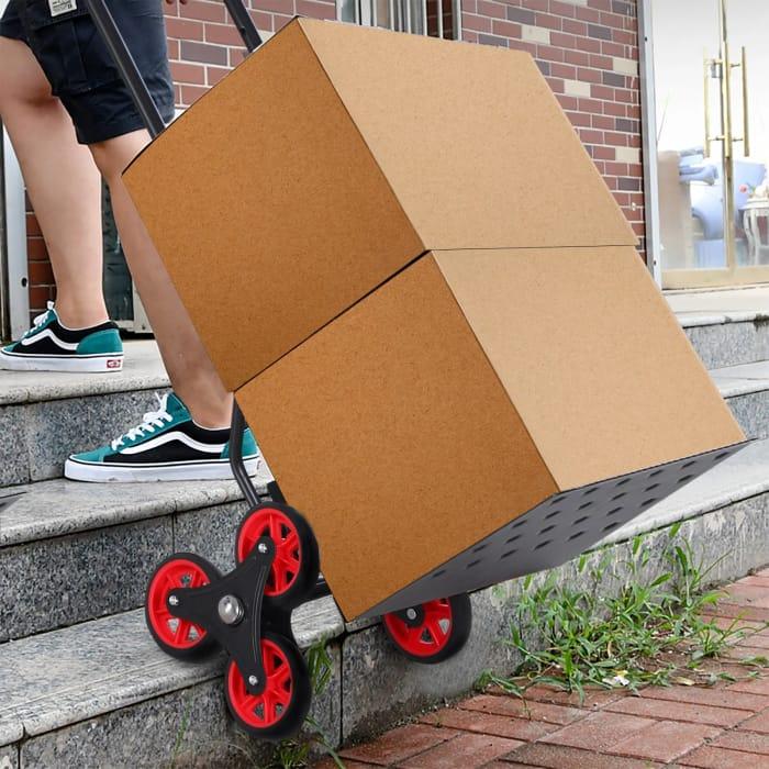 *SAVE £21* DURHAND Steel Climbing Handling Trolley w/Hand Trucks Load Cart 150k