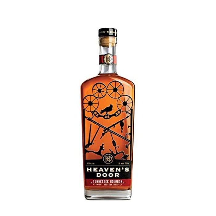 Heavens Door 42% ABV Tennessee Straight Bourbon, 70 Cl