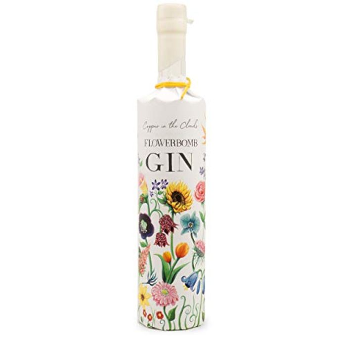 Gift-Wrapped Flowerbomb Gin by Copper in the Clouds. 70cl. 40%