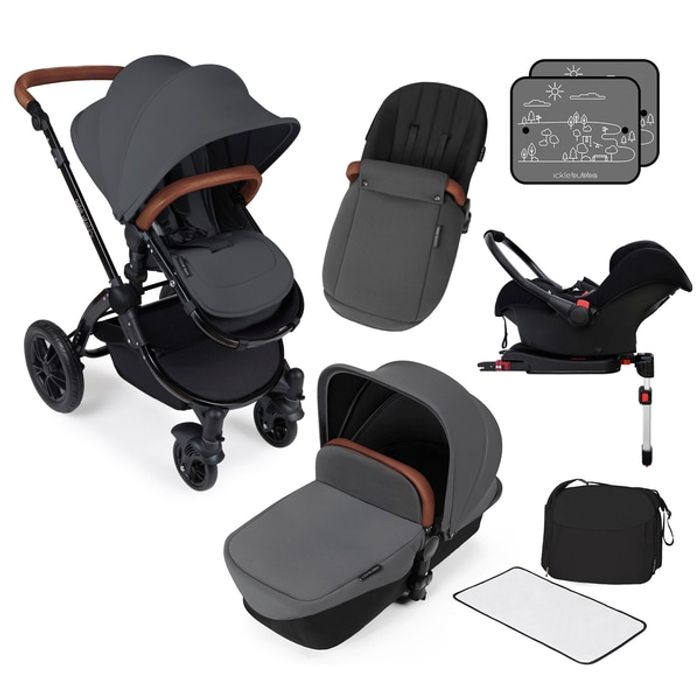 Ickle Bubba Stomp V3 All-in-One ISOFix Travel System