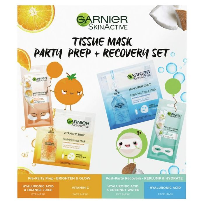 Garnier Mask Party Recover Kit - Only £7.99!