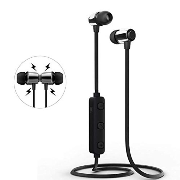 80% off These Bluetooth Neckband Waterproof Sporting Earphones
