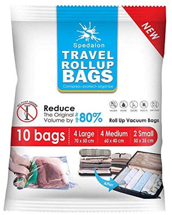 Travel Roll up Compression Bags for Travelling