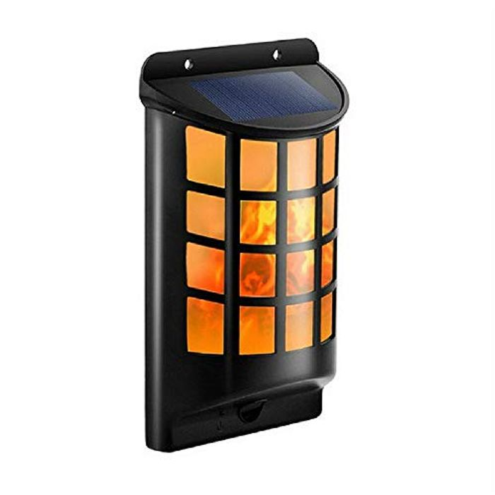 Solar Flame Outdoor Light for £12.99