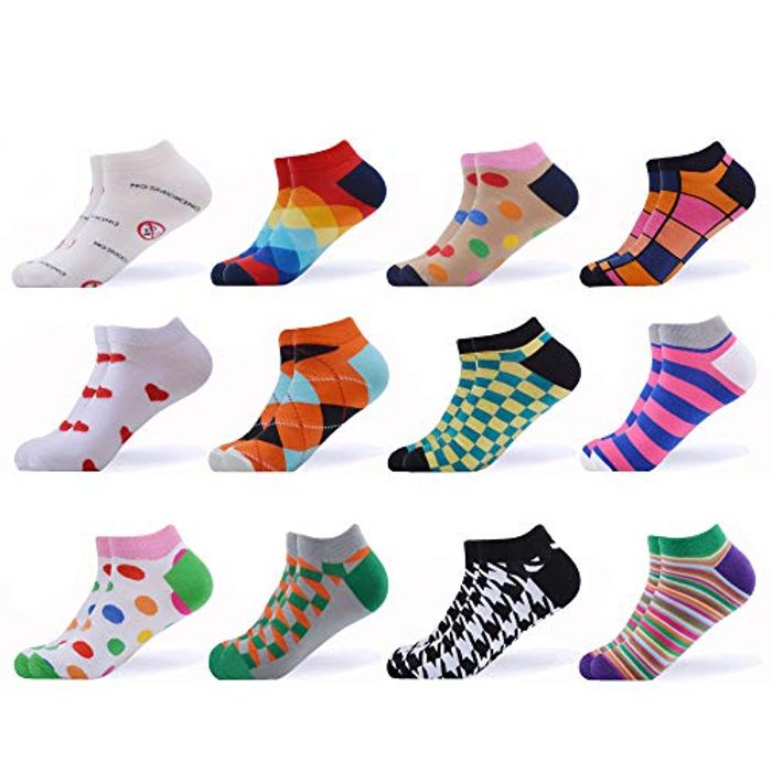 Casual Combed Cotton Ankle Socks