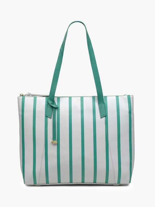 70% Discount- Radley Wood Street Large Leather Tote Bag, Bright White