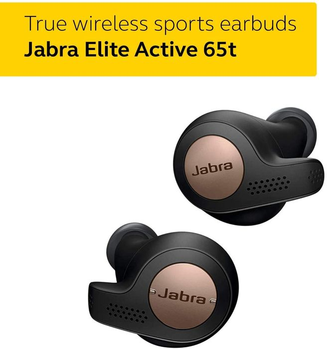 70 Off Jabra Elite Active 65t Earbuds 109 99 At Amazon Latestdeals Co Uk