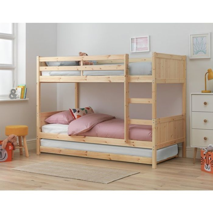 Argos Home Detachable Bunk Bed Frame with Trundle Only £153.32