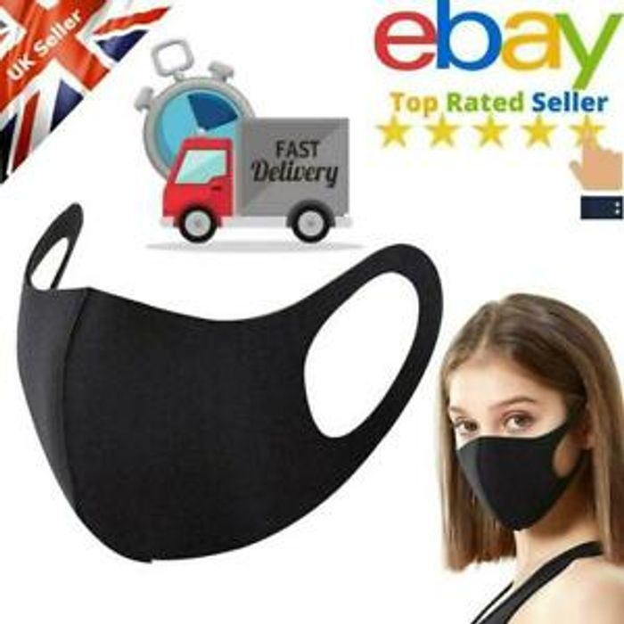 Reusable Washable Face Mask 1 69 Delivered At Ebay Latestdeals Co Uk