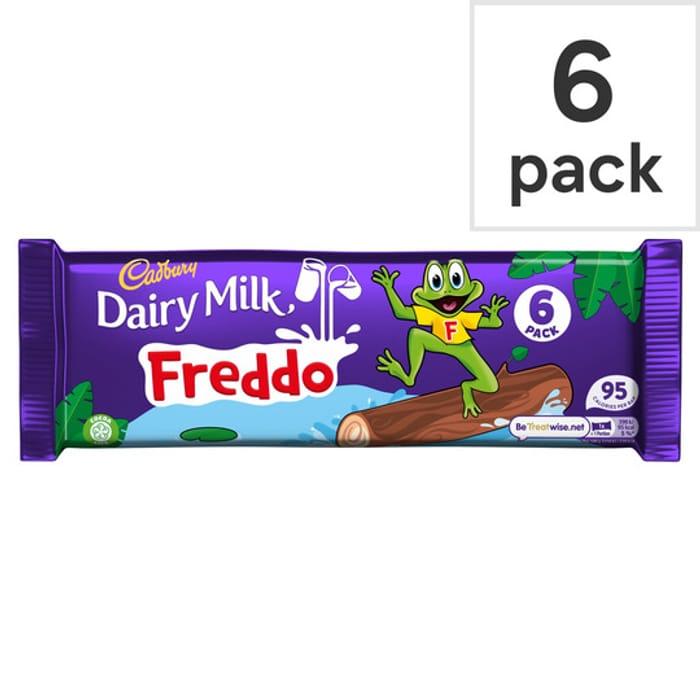 Cadbury Dairy Milk Freddo 6 Bars 108G