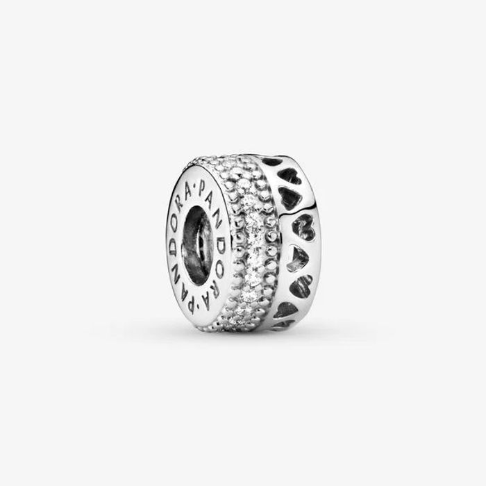 Pandora Openwork Hearts Spacer Charm - 1/2 Price