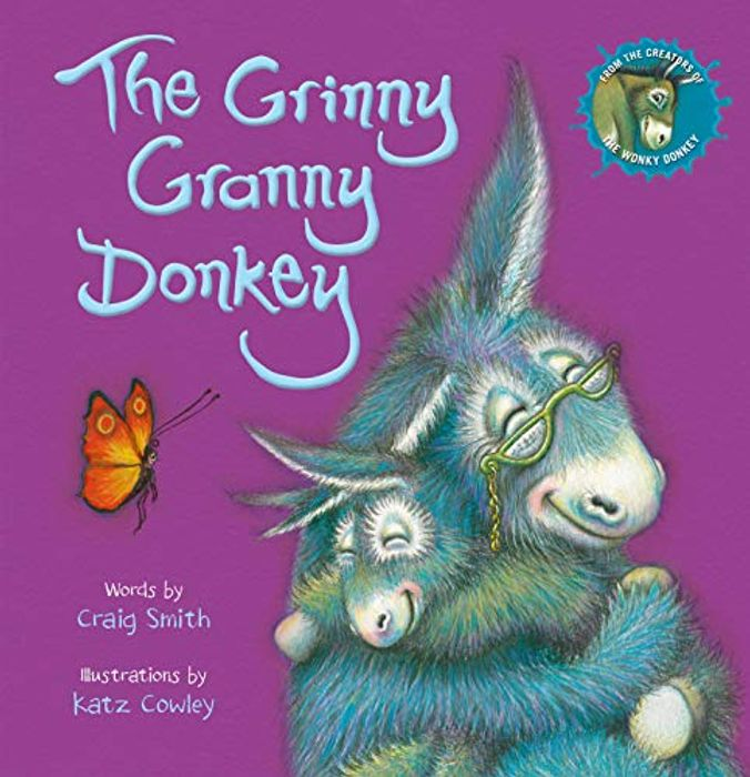 The Grinny Granny Donkey Pre-Order Now at Amazon, Price £5.03