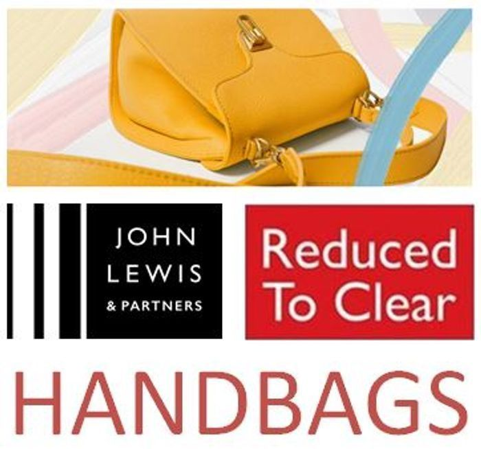 Special Offer - Love Your Handbags? Over 100 Handbags REDUCED TO CLEAR