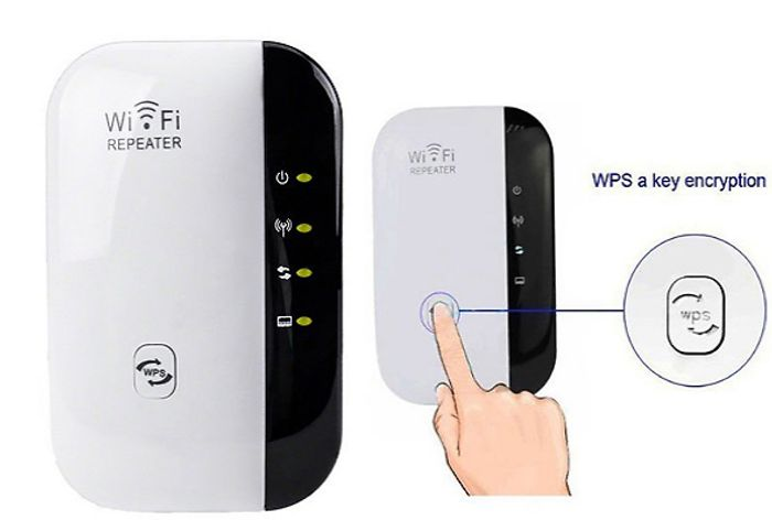 Plug In WiFi Booster / Signal Extender + Extra 10% Off - £13.99 Delivered