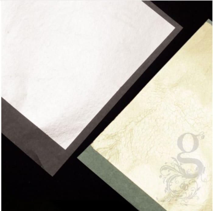 Free Sampler 6 Leaf Booklet - Imitation Silver & Gold 2.5 Leaf Transfer