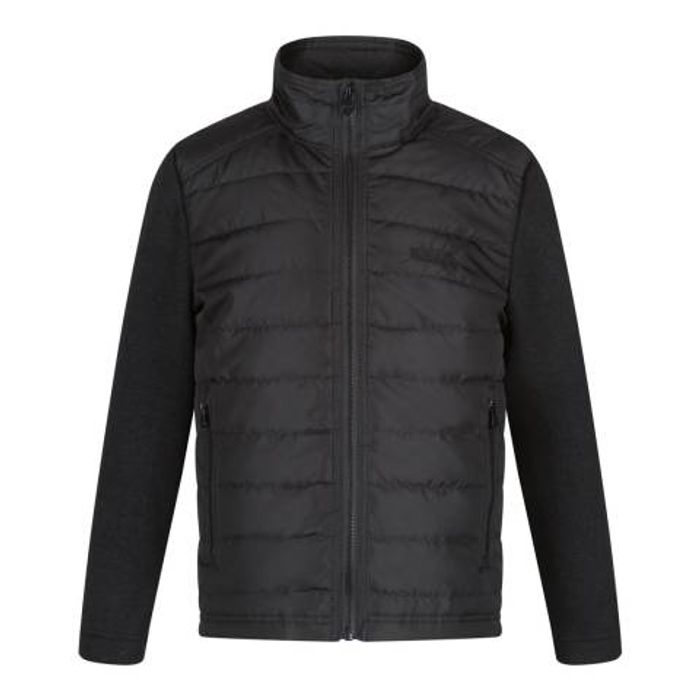 REGATTA Boys Black Kenya Jacket