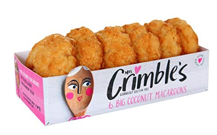 Mrs Crimbles 6 Large Coconut Macaroons, 195 G