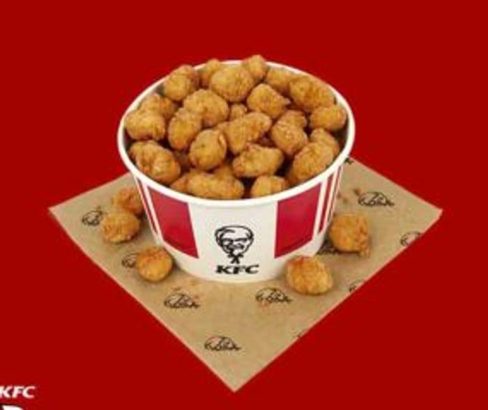 £5.99 80pc KFC Popcorn Chicken Bucket