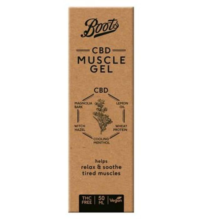 1/2 Price Boots CBD Muscle Gel