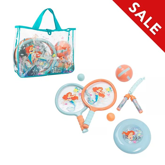 Disney Store the Little Mermaid Sports Bag