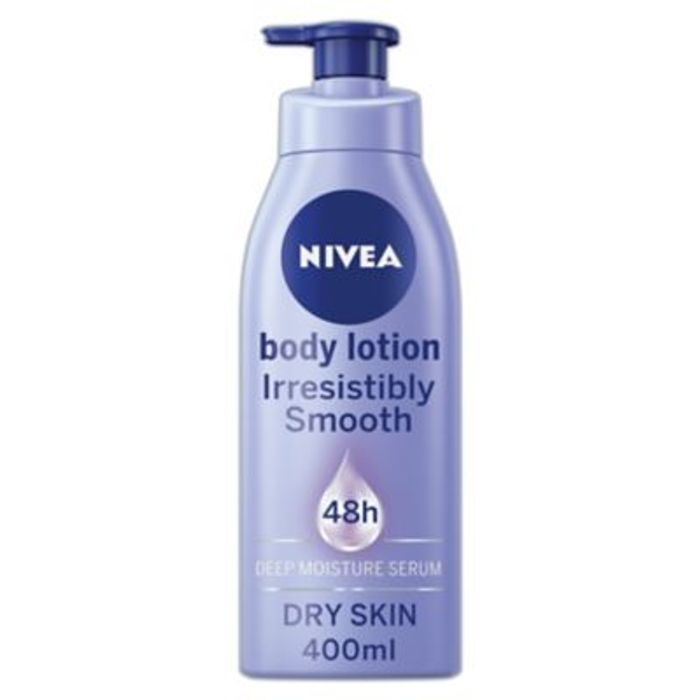 Nivea Body Lotion for Dry Skin Irresistibly Smooth 400ml