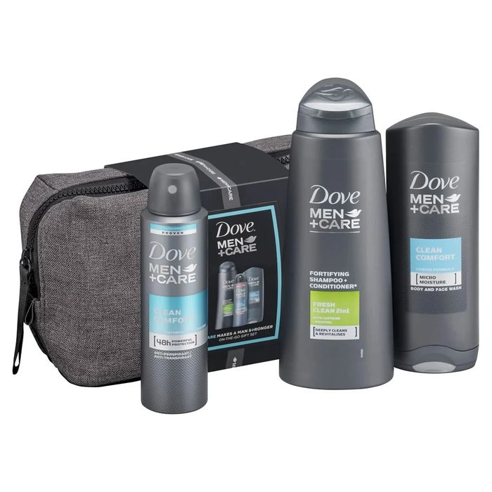 Dove Men+Care On-the-Go Gift Set - Only £5.99!