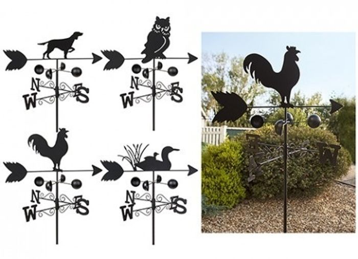 Garden Animal Weather Vanes Down From £29.99 to £9.99 (+6.99 delivery)