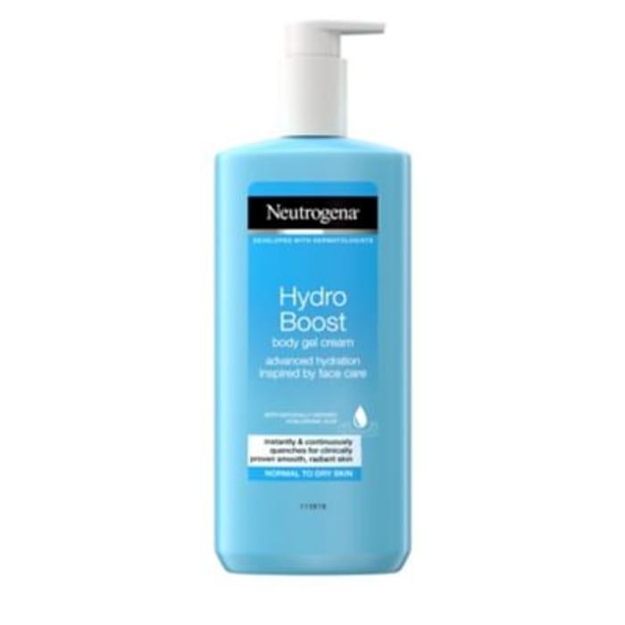 Neutrogena Hydro Boost Body Gel Cream 250ml - Only £3.33!