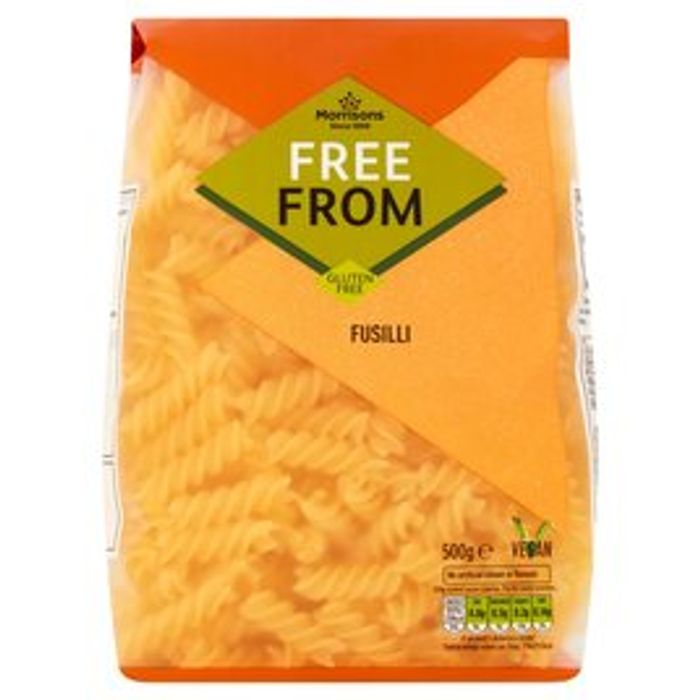 Morrisons Free from Fusilli 500g - HALF PRICE!
