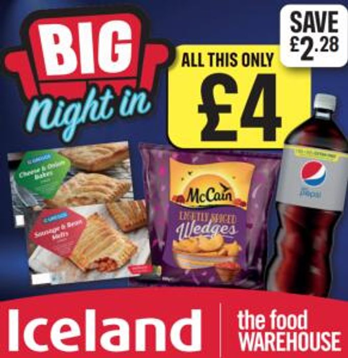 Iceland Big Night in Meal Deal