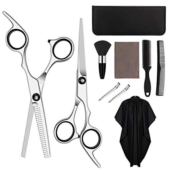 Save 70%- HALOVIE Hairdressers Scissors Set (10 PCs) (Link in Descritpion)