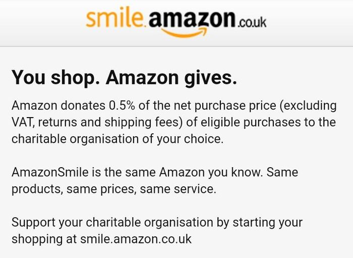 FREE Charity Donation of Choice, When Purchasing Anything at Amazon UK