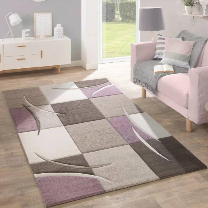 Ansley Purple/Beige Rug