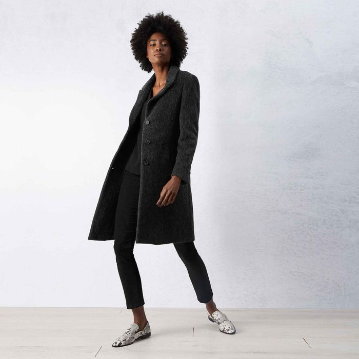 CHEAP! James Lakeland Black Luxury Coat Sizes 8, 12 & 14 Also in Grey & Navy