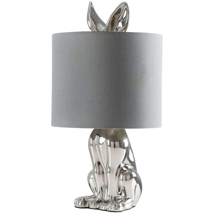 Ceramic Rabbit Base Table Lamp Light Shades