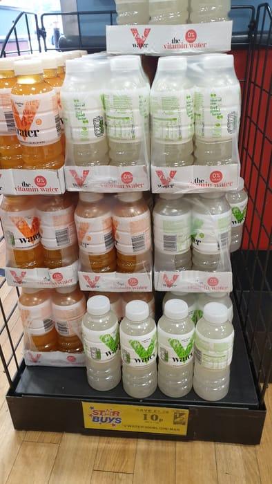 Vitamin Water Drink Two Varieties