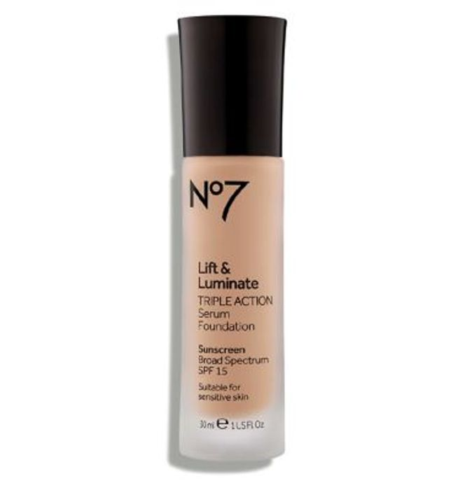 DEAL STACK - No7 Lift & Luminate TRIPLE ACTION Serum Foundation 30ml