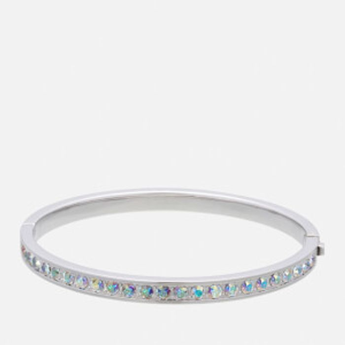 Ted Baker Women's Clemara Hinge Crystal Bangle - Silver