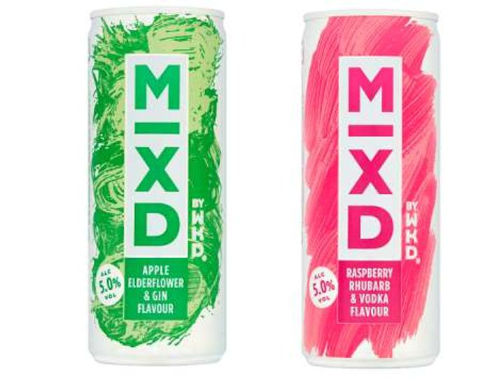 Free WKD Mixd Apple Elderflower & Gin at Sainsburys/Londis & Budgens via COS