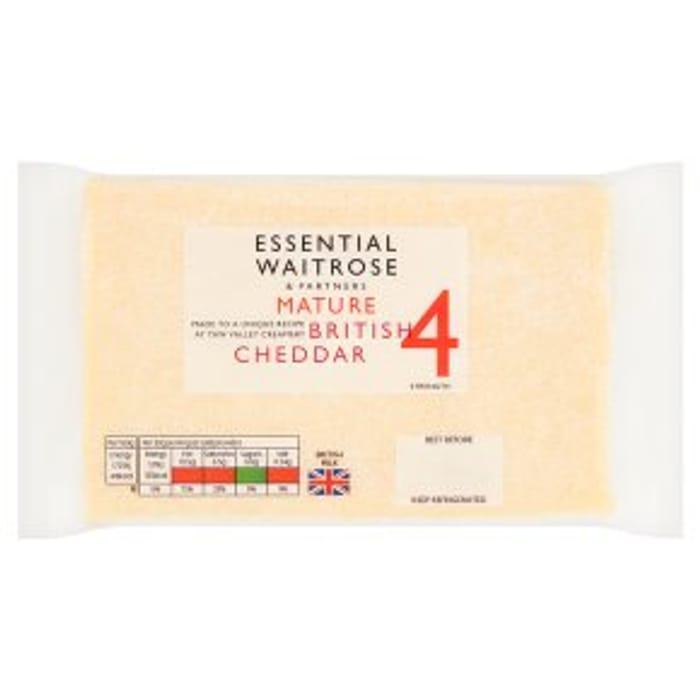 Mature British Cheddar 31%off at Waitrose & Partners