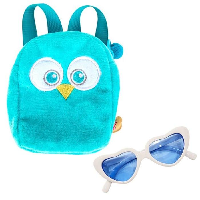Chad Valley Designabear Owl Backpack Set